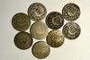 8 Various Shield Nickels