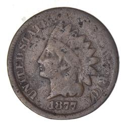 1877 Indian Head Cent - Circulated
