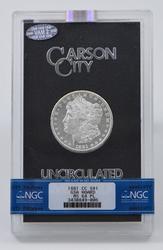 MS64PL 1881-CC Morgan Silver Dollar - GSA Hoard - NGC Graded