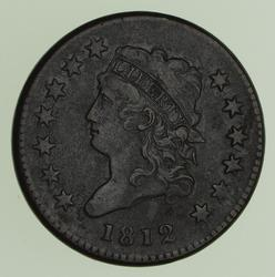 1812 Classic Head Large Cent - Circulated
