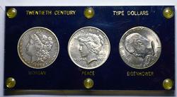 20th Century Large Dollar Type Set