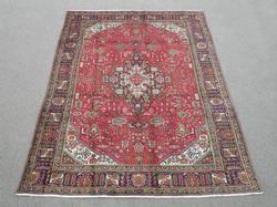 Superb Detailed Semi Antique Persian Tabriz 9.5x6.4