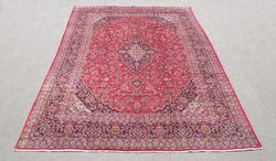 Simply Gorgeous Semi Antique Persian Kashan 13x9.5