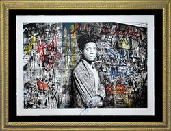 Oversized Mr. Brainwash Original Color Serigraph