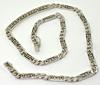 14K White Gold Necklace With Diamond Center