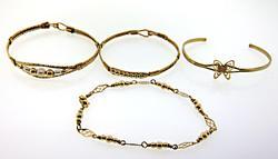Group of 4 Child's Bracelets