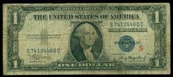 Scarce 1935-A Series $1 Experimental Silver Certificate