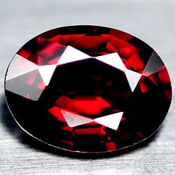 Radiant 2.07ct blood red Spessartite Garnet