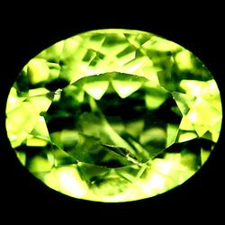 Gorgeous 3.03ct parrot green untreated Peridot