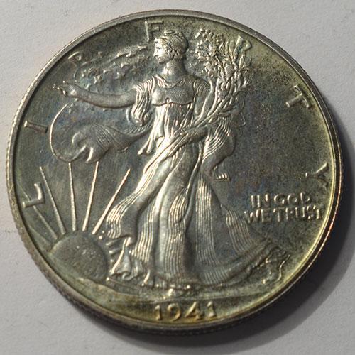 1941 Proof Walking Liberty Half Dollar