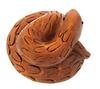 Hand Carved Netsuke Curly Snake