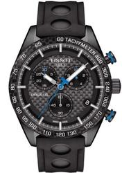 New Tissot Black Carbon Chronograph Swiss, Sapphire