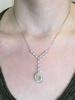 5.15CTW Yellow Diamond 18k Necklace GIA Certified