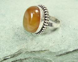 Fascinating Ethnic Crafted Amazing Natural Stone Ring