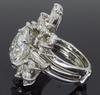 Custom 7.16CTW Pear Cut Diamond Ring with Wrap
