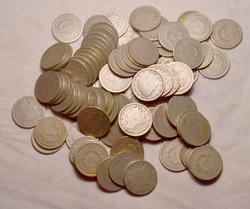 80 1890-1900 Era Full  Date Full Rim V Nickels