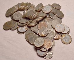 121  1943 Steel Cents