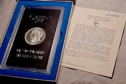 Gem PL 1882 Carson City Morgan Dollar in a GSA Holder