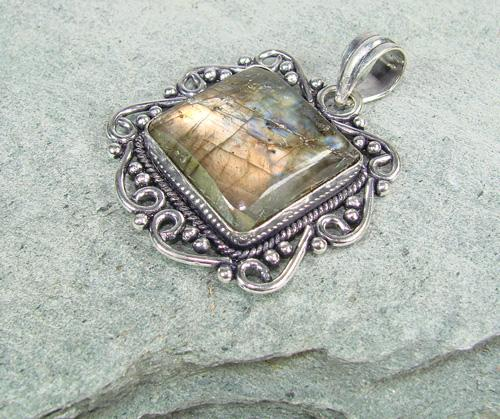 Magical Natural Stone Ethnic Handcrafted Pendant