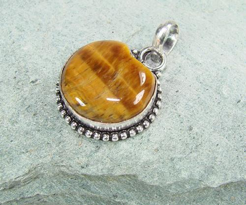 Exciting Natural Stone Ethnic Handcrafted Pendant