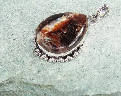 Fantastic Natural Stone Ethnic Handcrafted Pendant