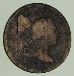 1795 Liberty Cap Large Cent - Circulated