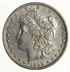 1899-S Morgan Silver Dollar - Circulated