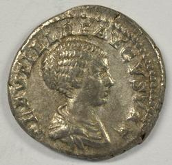 Nice Plautilla Roman Silver Denarius, 205 & 211 AD