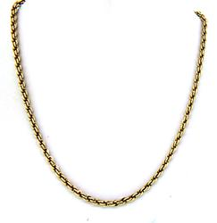Long 14kt Gold Necklace