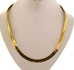 14kt Yellow Gold Herringbone Chain