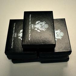 1992-1998 Silver Premier Proof Sets