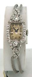 Ladies Vintage Hamilton with Diamonds