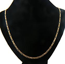 Nice Weight 18K Figaro Chain