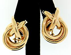 Stylish X O Earrings