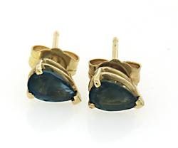 Lovely Sapphire Stud Earrings