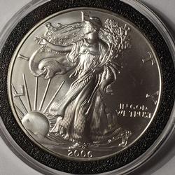 2006 BU American Silver Eagle $1
