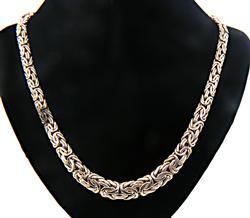 Byzantine Sterling Silver Necklace