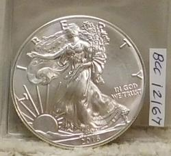 2016 One Ounce Silver Eagle - Uncirculated