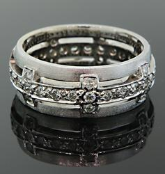 Unqiue Diamond Eternity Band