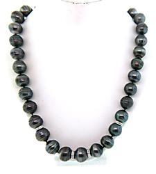Tahitian Pearl & Diamond Necklace