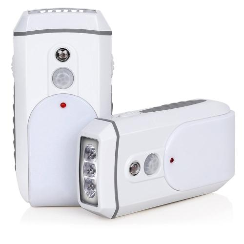 2Pack/Rechargeable Flashlight/Motion Sensor/Night Light