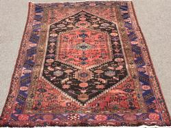 Charming Mid-20th C. Handmade Vintage Persian Mission Rug