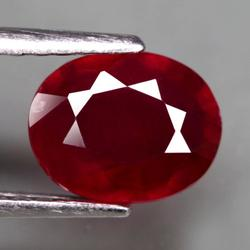 Velvety 2.39ct top blood red Ruby