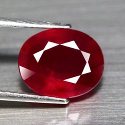 Lavish 4.87ct top blood red Ruby