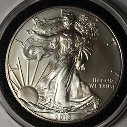 2013 BU American Silver Eagle