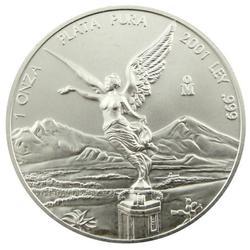 2001 1 oz Mexican Silver Libertad Uncirculated