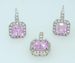 Gorgeous Sapphire & Diamond Set