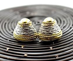 High End Designer 18K Earrings