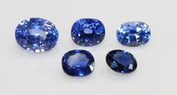 Cornflower Blue Natural Ceylon Sapphires
