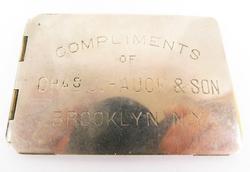Antique Advertising Note Pad